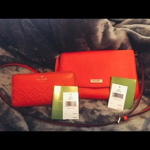 Kate Spade Cross Body Bag and Wallet